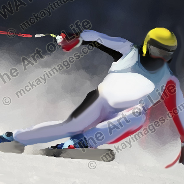 The Ski Racer - Limited Edition of 99